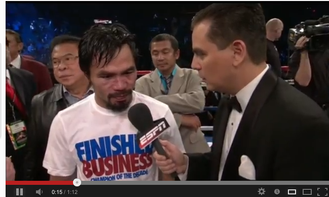 Manny Pacquiao Knocked Out By Marquez: Finished Business?